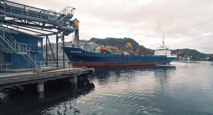 Skipsutlasteren er designet for betjene lasteskip i mange ulike størrelser.