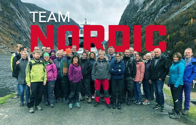 Alle ansatte i Nordic Bulk på firmatur i Jøsenfjorden