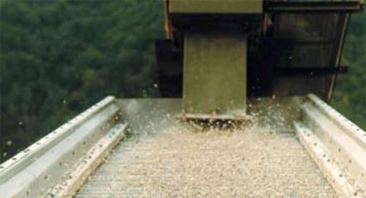 Trampoline effekt av flip-flow teknologien unngår blant annet groing og plugging av sikteduk.
