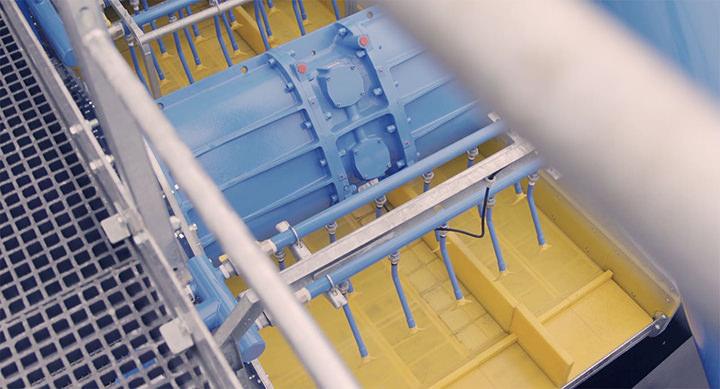 Combo har samme funksjonalitet og produserer med samme kvalitet som et stasjonært anlegg, samtidig er det enkelt å flytte.