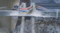 Støvdemping til pukkverk