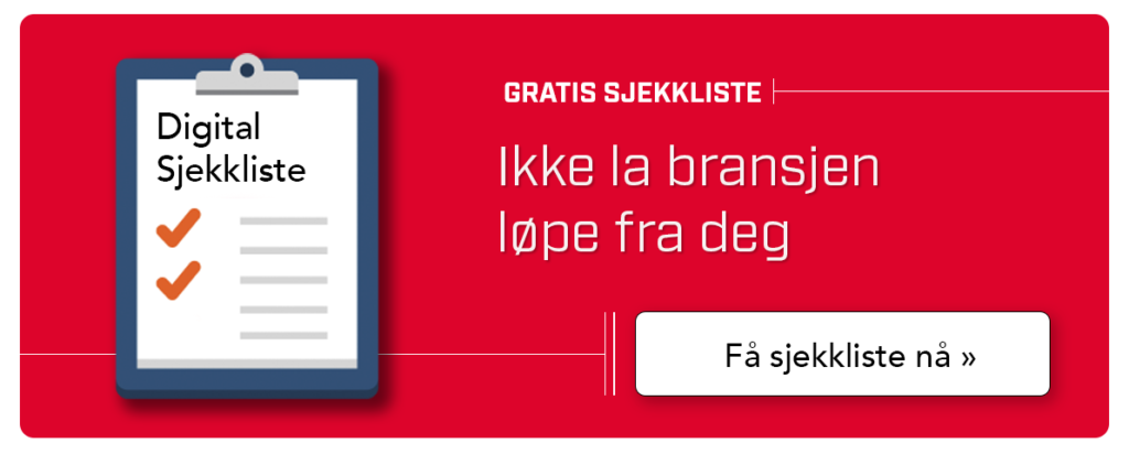 Kanpp til å laste ned digital sjekkliste for pukkverk