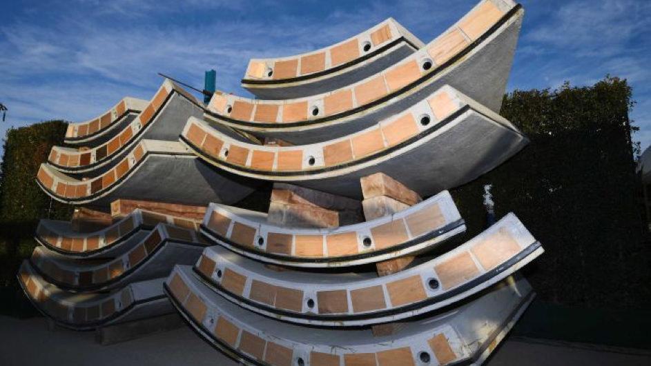 Illustrasjon av betongelementer