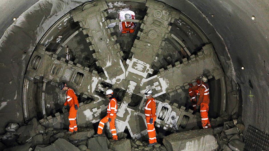 Møtepunkt i tunnell